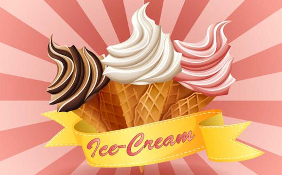 冰淇淋元素